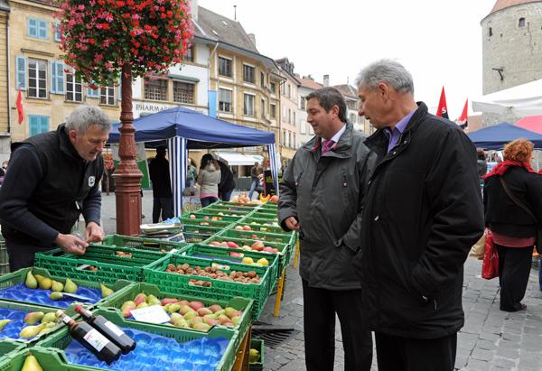 Pierre-Yves Rapaz avec Jean-Pierre Grin-marcheYverdon (2)